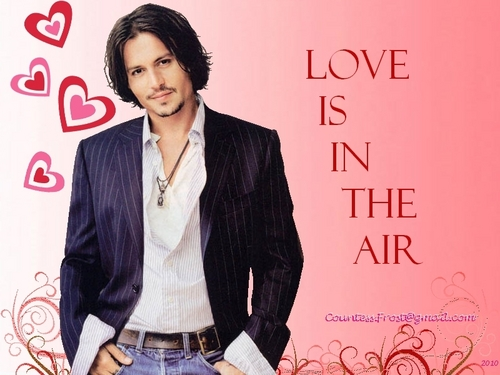 Johnny Depp Images Love Is In The Air HD Wallpaper And