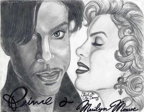 Marilyn Monroe and Prince