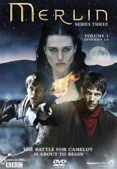 Merlin season 3 part 1 DVD Cover