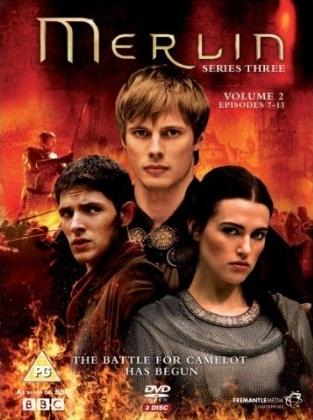 Merlin season 3 part 2 DVD Cover