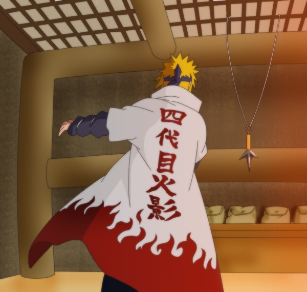 Minato getting ready for war