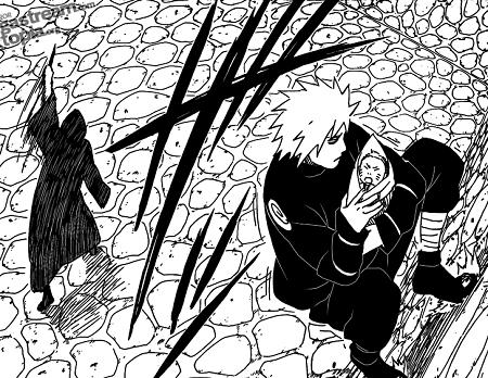 Minato saves baby Naruto