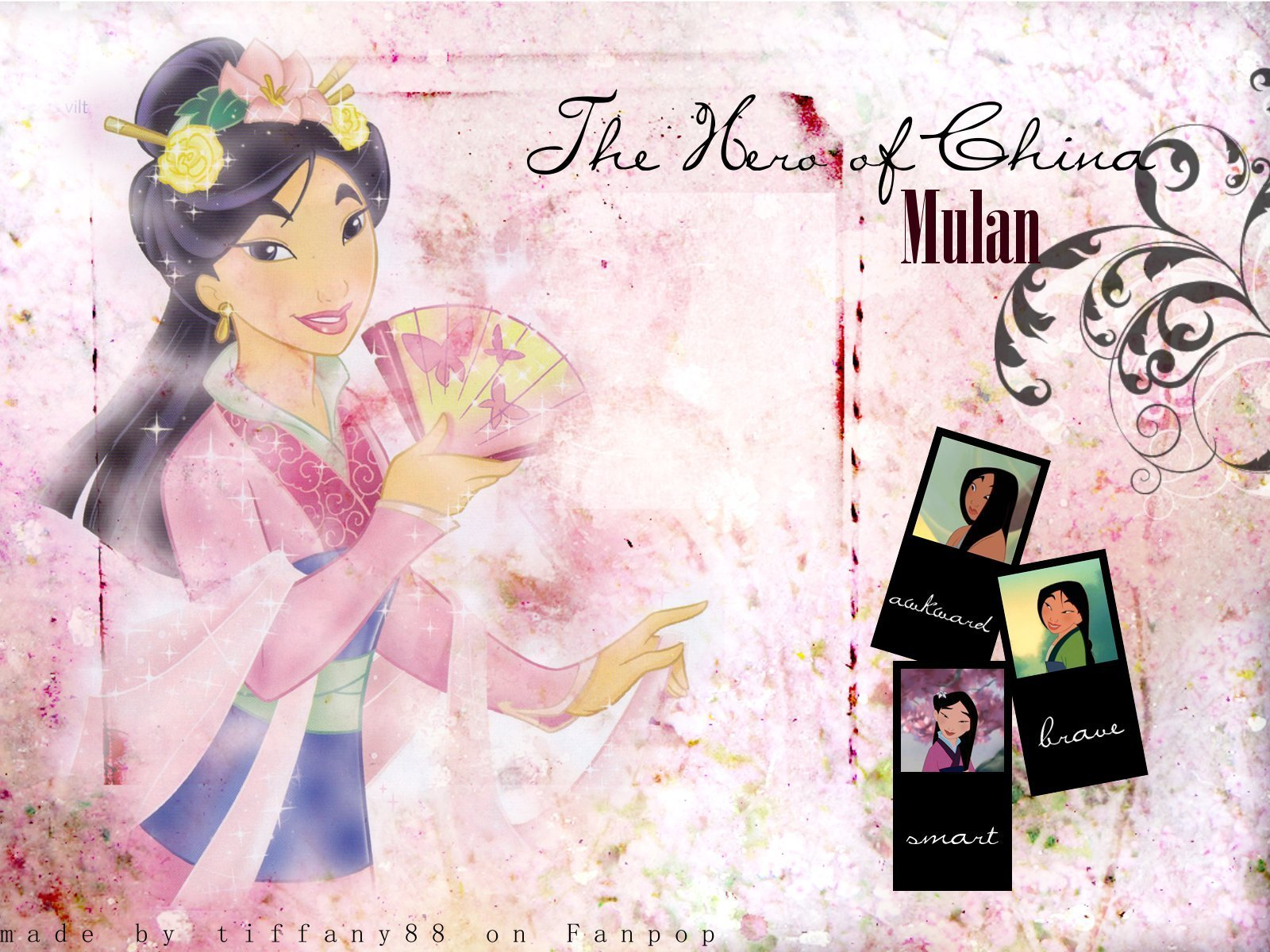 mulan mulan wallpaper 16451967 fanpop