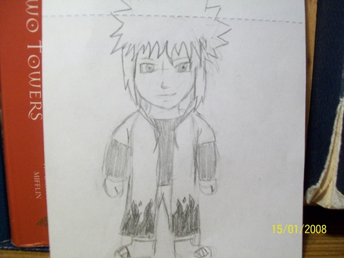 My Minato drawing