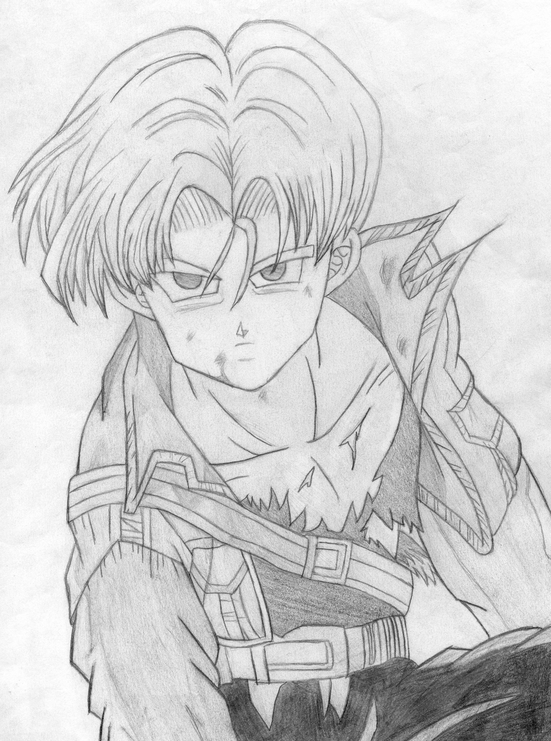 My drawing of Trunks