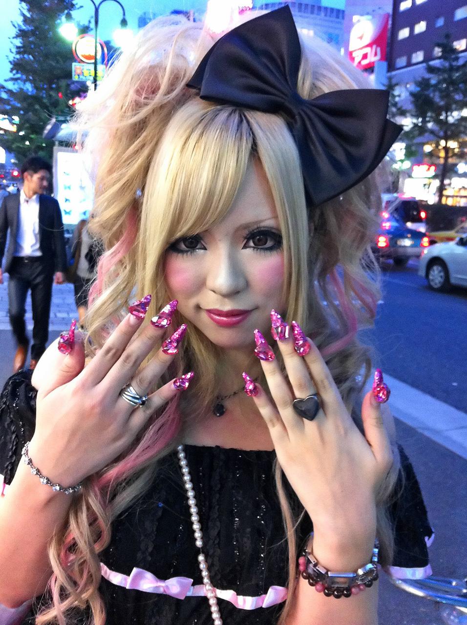 Мода причесок в японии