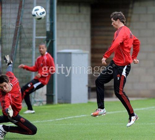 Nando - Liverpool Training