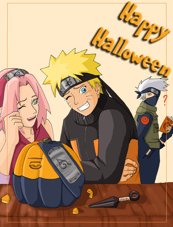 Naruto Halloween Naruto Fan Art 16491106 Fanpop