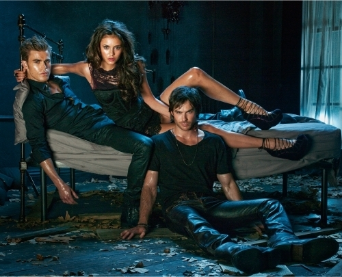 Vampire Diaries karatasi la kupamba ukuta possibly with a hip boot entitled New Pic promo in HQ
