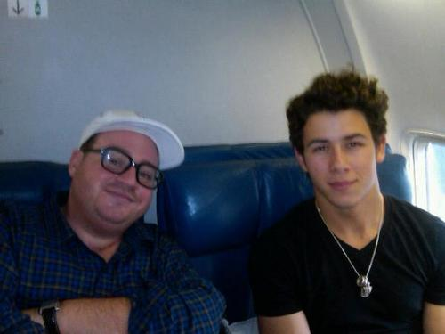 Nick and John about to take off for Mexico