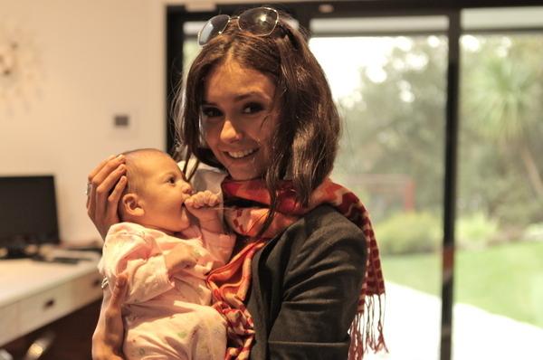 Nina wid baby nico