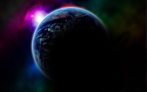 Planet Earth Hintergrund called Our Planet