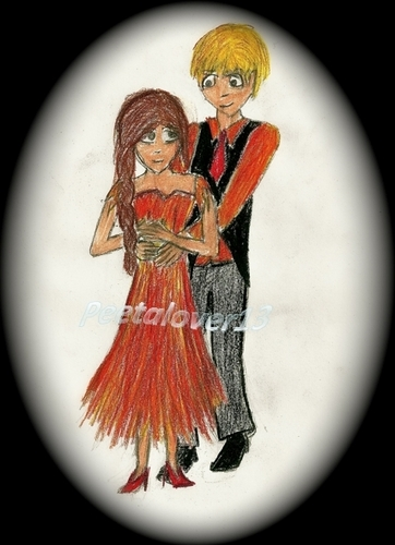 Peeta and Katniss: Fiery Nights