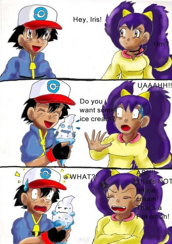 Pokemon comic