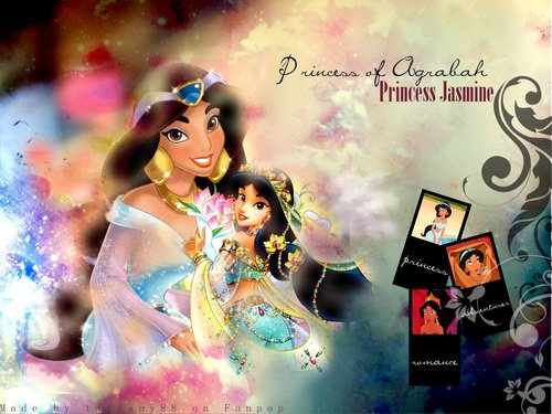 Aladdin wallpaper called Princess gelsomino