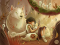 Princess Mononoke - princess-mononoke fan art