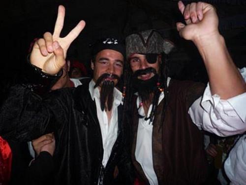 Rafael Nadal like a pirate