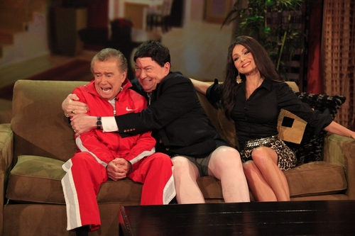Regis and Kelly Celebrate Halloween