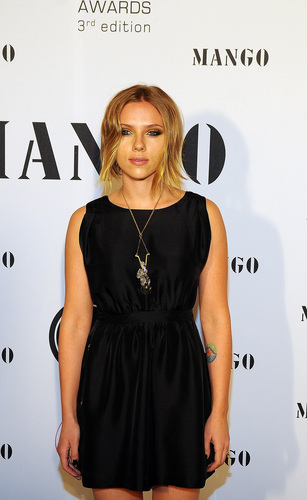 Scarlett @ 'El Botón' mango Fashion Awards
