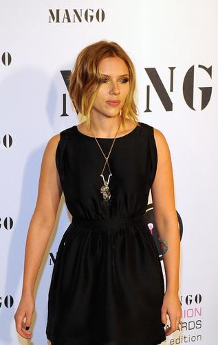 Scarlett @ 'El Botón' mangga Fashion Awards