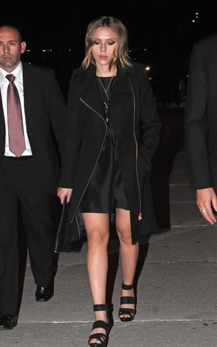 Scarlett @ 'El Botón' آم Fashion Awards
