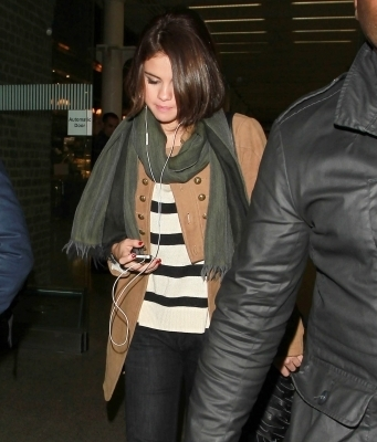 Selena out in London
