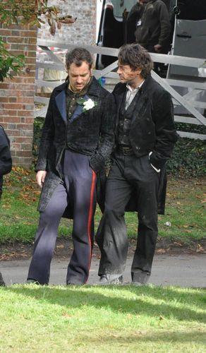 Sherlock Holmes 2 Set fotografias