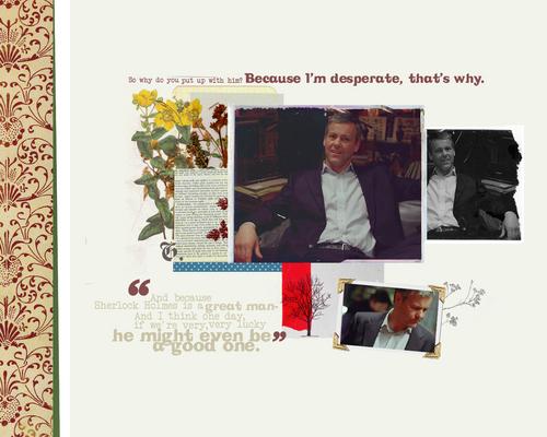Sherlock & Lestrade