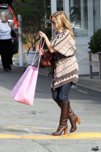 Shopping in Brentwood (October 19)