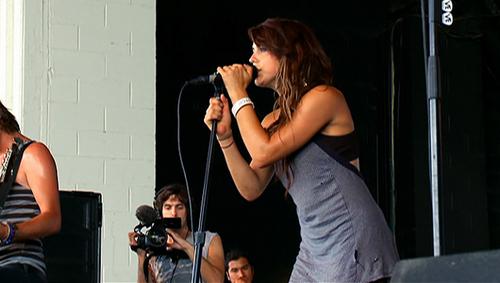Sierra, lead singer of VersaEmerge