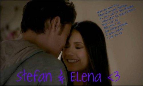 Stefan & Elena <333
