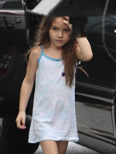 Suri Cruise is a long haired cutie