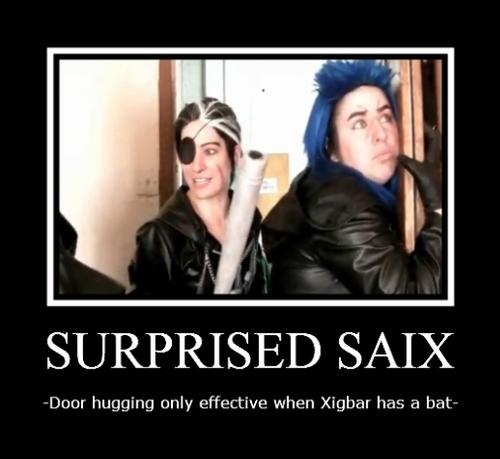 Surprised Saix
