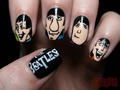 The Beatles on finger nails.