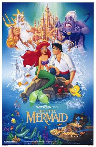 The Little Mermaid VHS Cover(Older Edition)