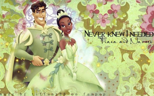 The Princess and the Frog wallpaper entitled The Princess and the Frog