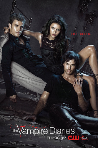 The Vampire Diaries cama Poster