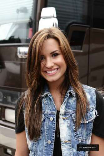 Demi Lovato Hintergrund possibly with a straße and a fahrbahn called The Vans Warped Tour,June 27th,2010