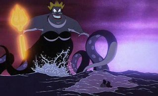 les méchants de Disney fond d'écran called Ursula