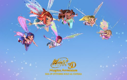 Winx Club Movie wallpaper entitled Winx Club Movie 2 - Posters
