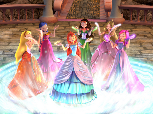 Winx Club Movie wallpaper possibly containing a bridesmaid called Winx Club Movie 2