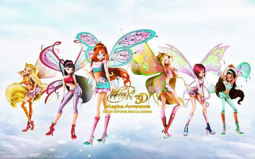 Winx Club Movie wallpaper possibly with anime called Winx Club Movie 2
