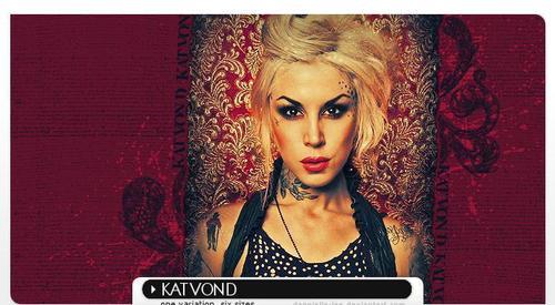Kat Von D wallpaper entitled Zoe
