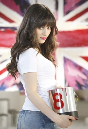 Zooey - Rimmel Лондон behind the scenes