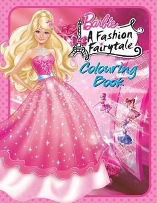 बार्बी a fashion fairytale book