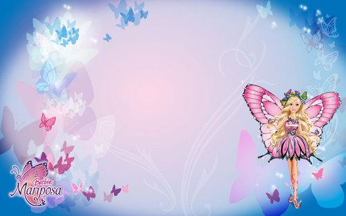 芭比娃娃 mariposa