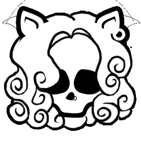 Monster High Clawdeen Skull