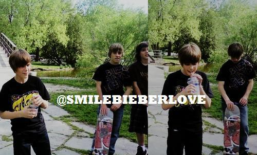 exclusive pic:Justin Bieber with Друзья