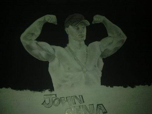 my cena's sketch