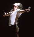 on stage - michael-jackson photo